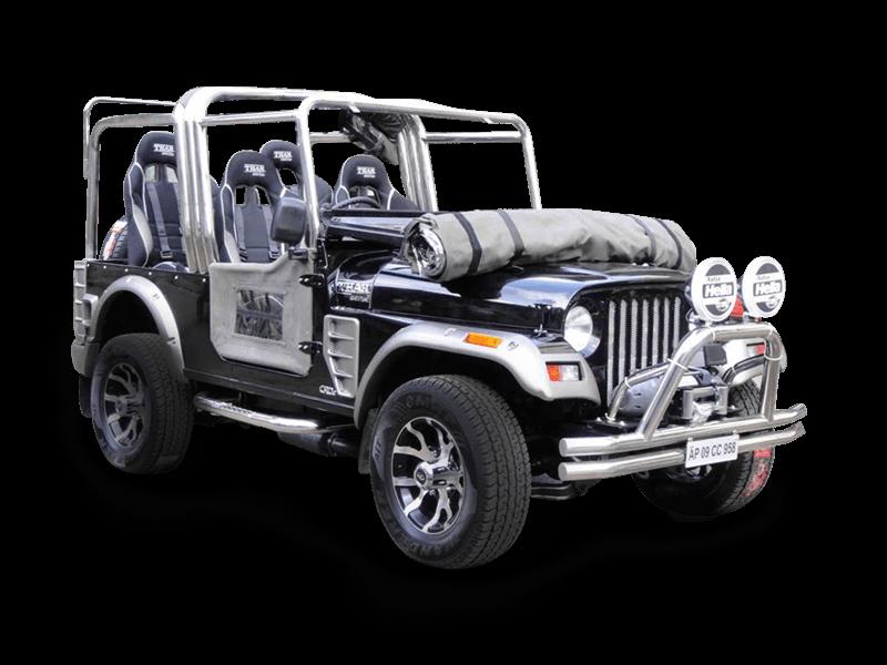 Mahindra Customisation Modified Car Customized Jeeps